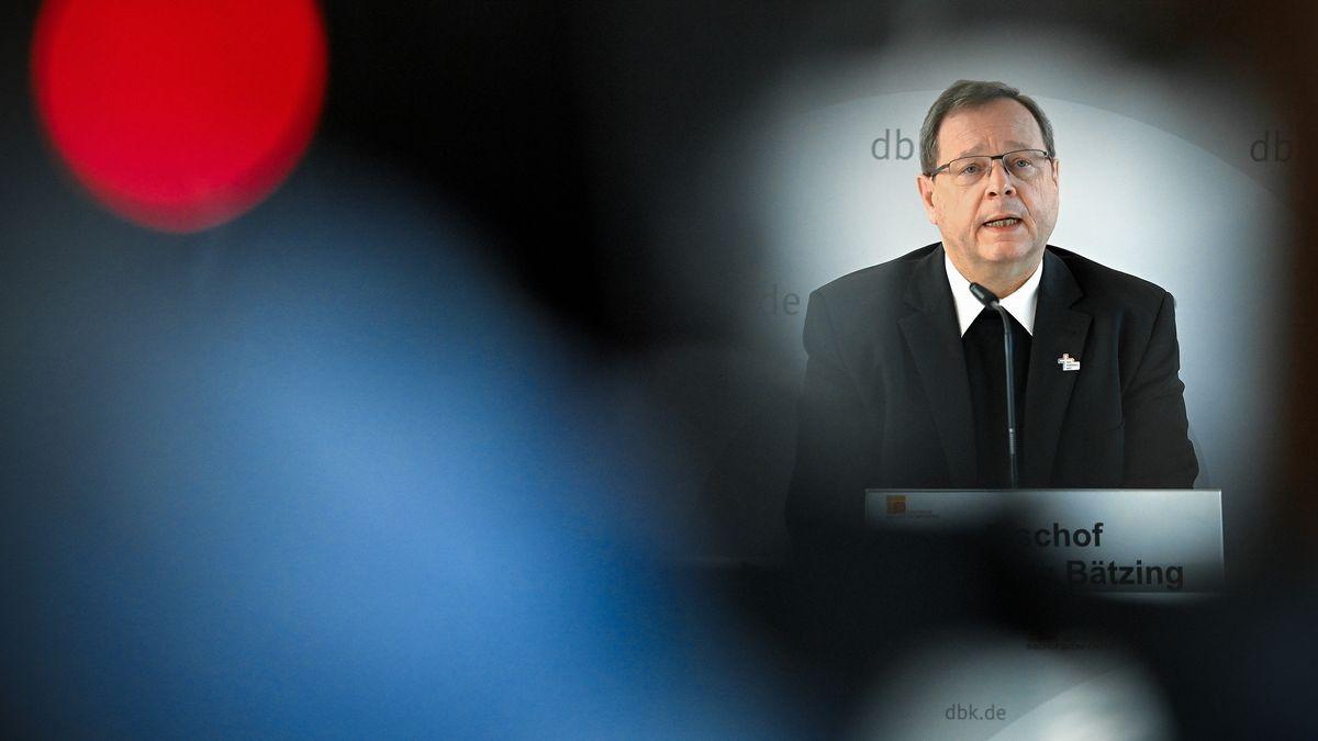Der Limburger Bischof Georg Bätzing, Vorsitzender der Deutschen Bischofskonferenz.