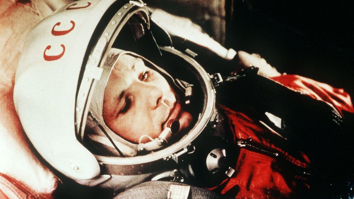 Astronaut im Raumanzug