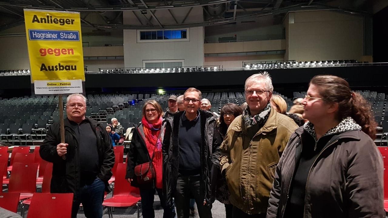 Landshuter Bürger auf der Info-Veranstaltung zu Straßenerschließungsgebühren