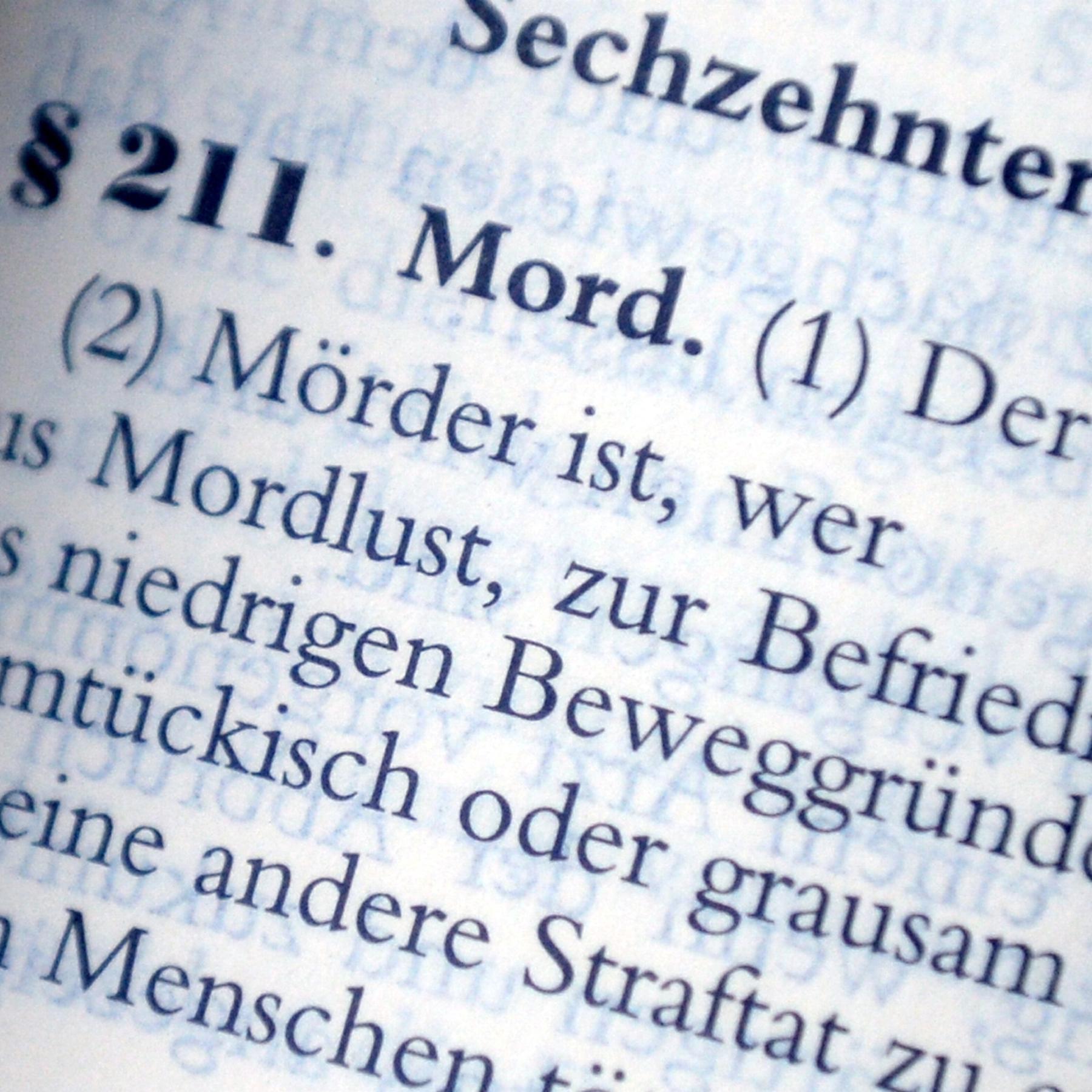 Der Mordparagraf 211 StGB - Ein Tatbestand im Wandel der Zeit