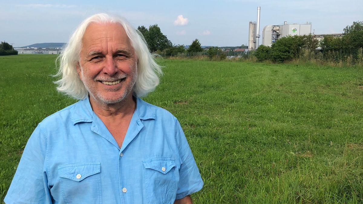 Hans Schütz, Sprecher des Aktionsbündnisses gegen die Müllverbrennungsanlage Altenstadt.