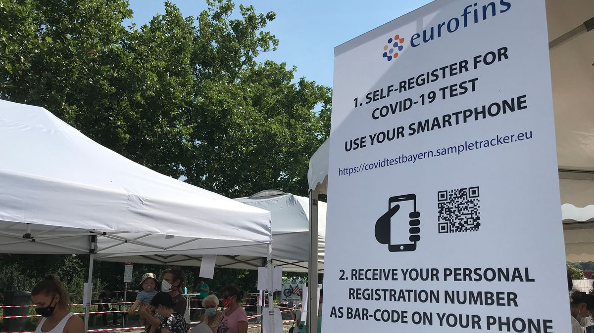 Registrierung mit dem Smartphone