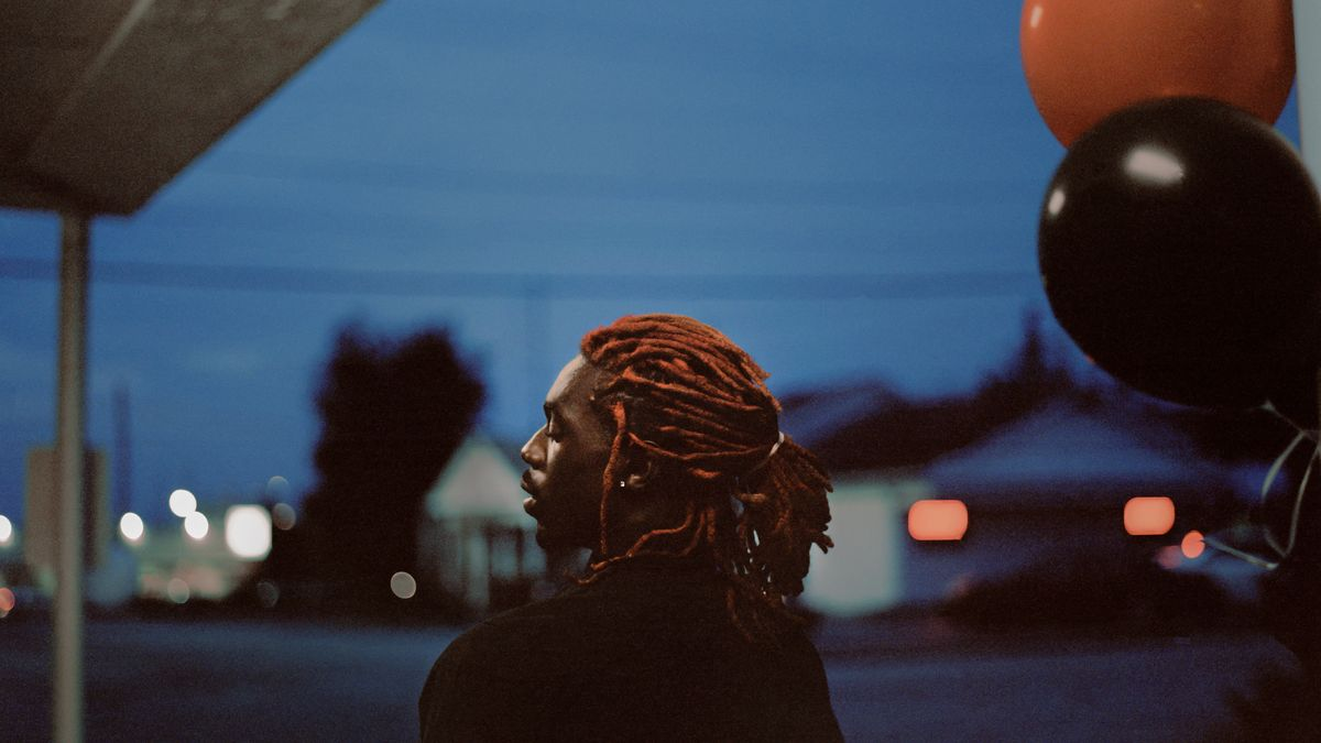 "Schwarzer HipHop-Musiker in Atlanta aus dem Fotoband ""Trap"""