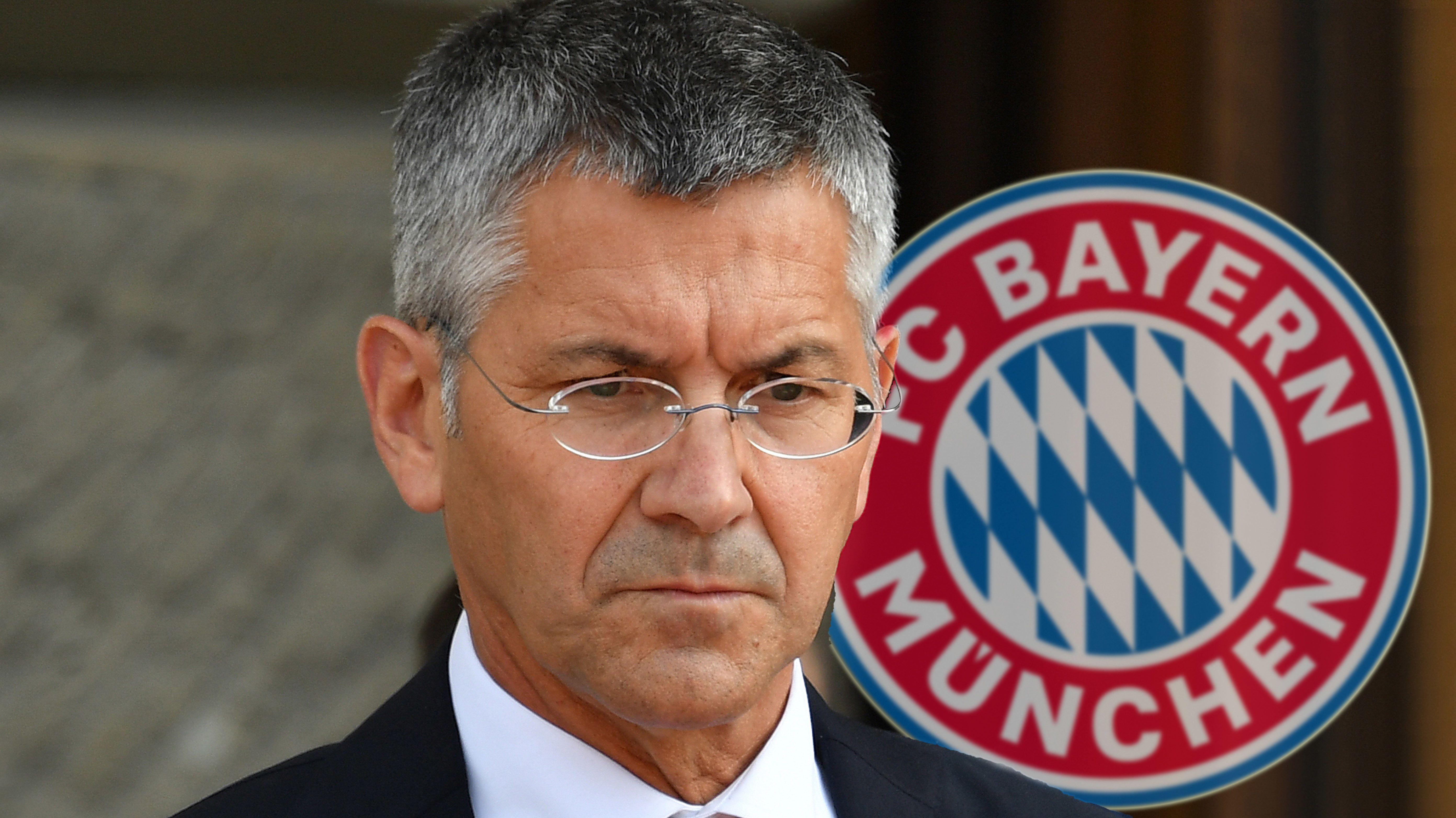 Fotomontage: Herbert Hainer wurde als FC Bayern Präsident-Nachfolger nominiert