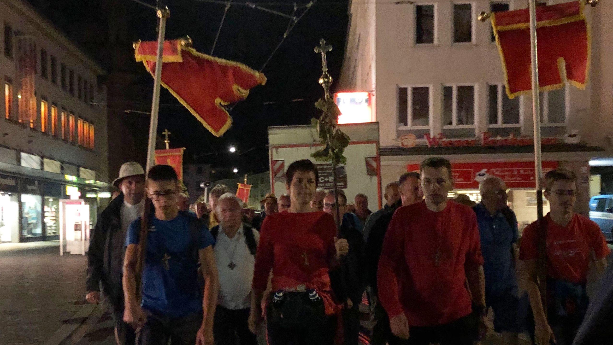 Kreuzbergwallfahrer