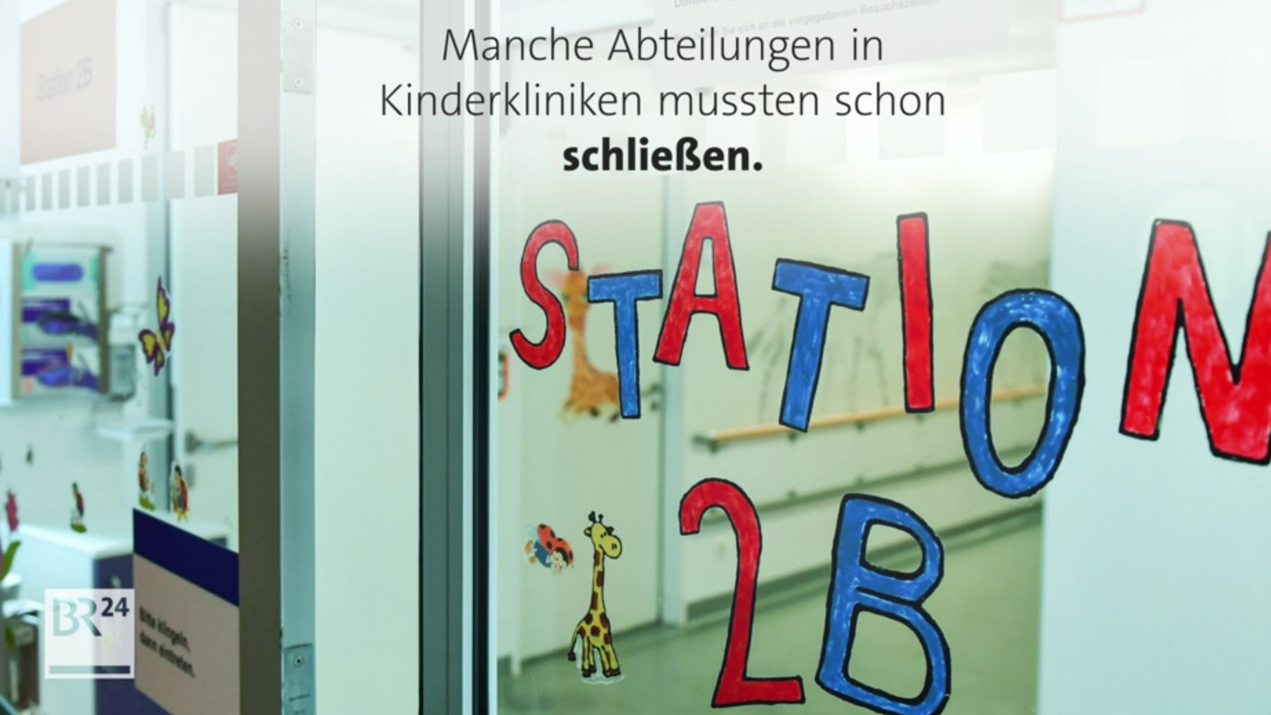 #fragBR24: Kinderkliniken in Not, was ist da los?
