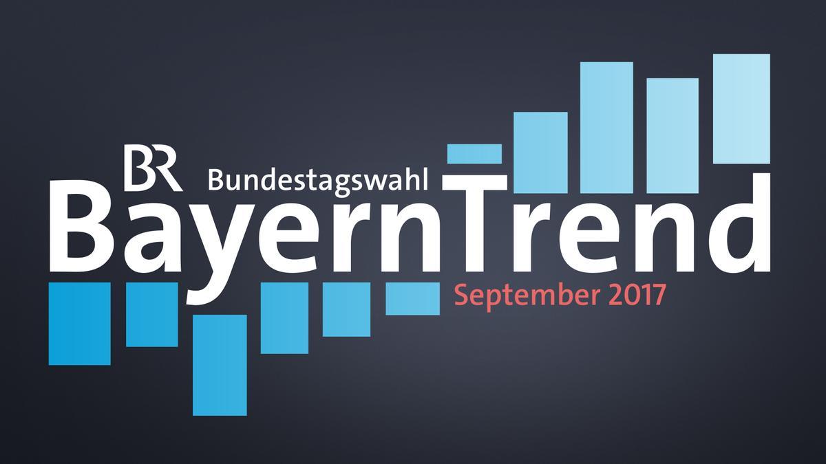 BayernTrend zur Bundestagwahl im September 2017