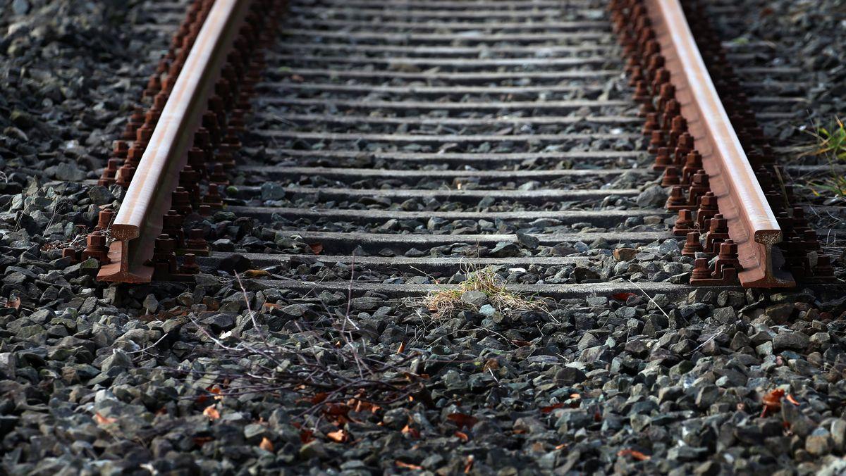 Unterbrochene Bahngleise
