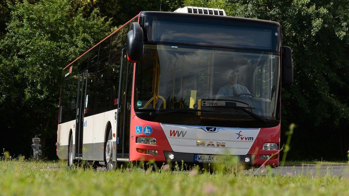 Linienbus des VVM.