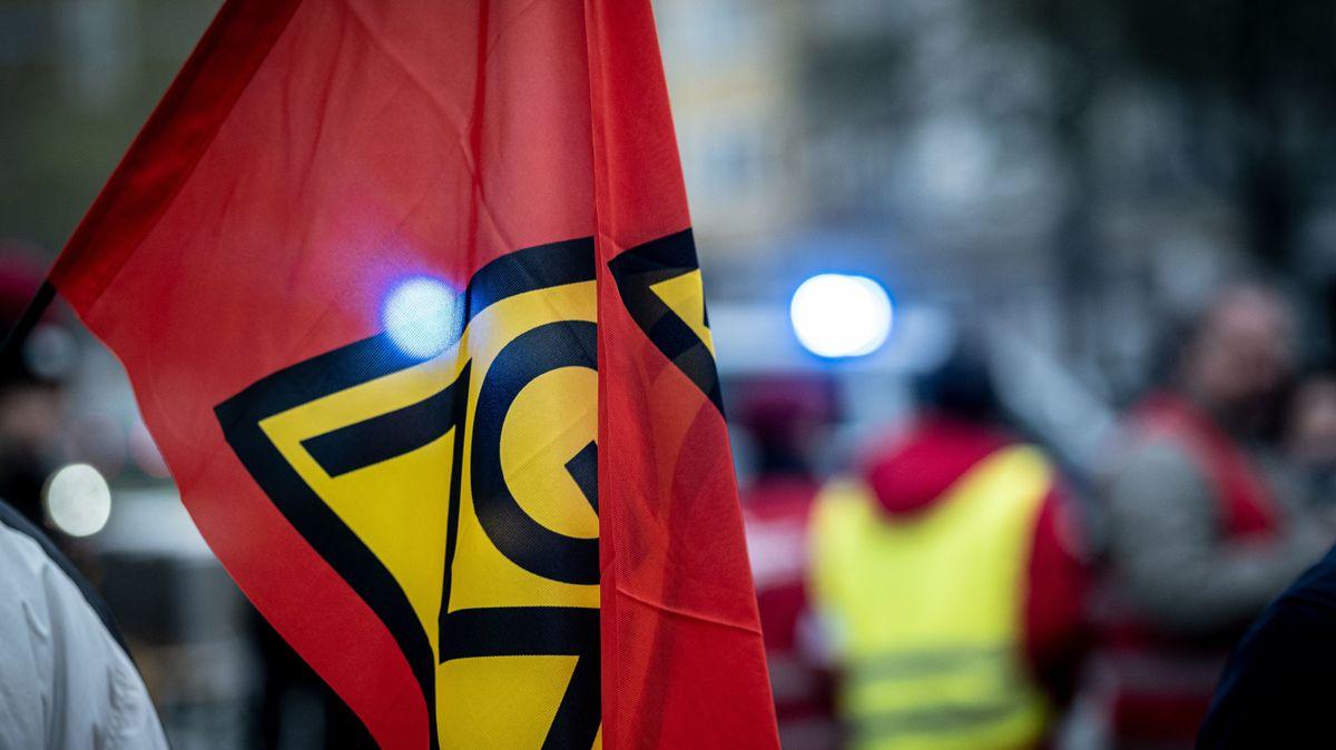 Wieder IG Metall-Warnstreiks in Unterfranken