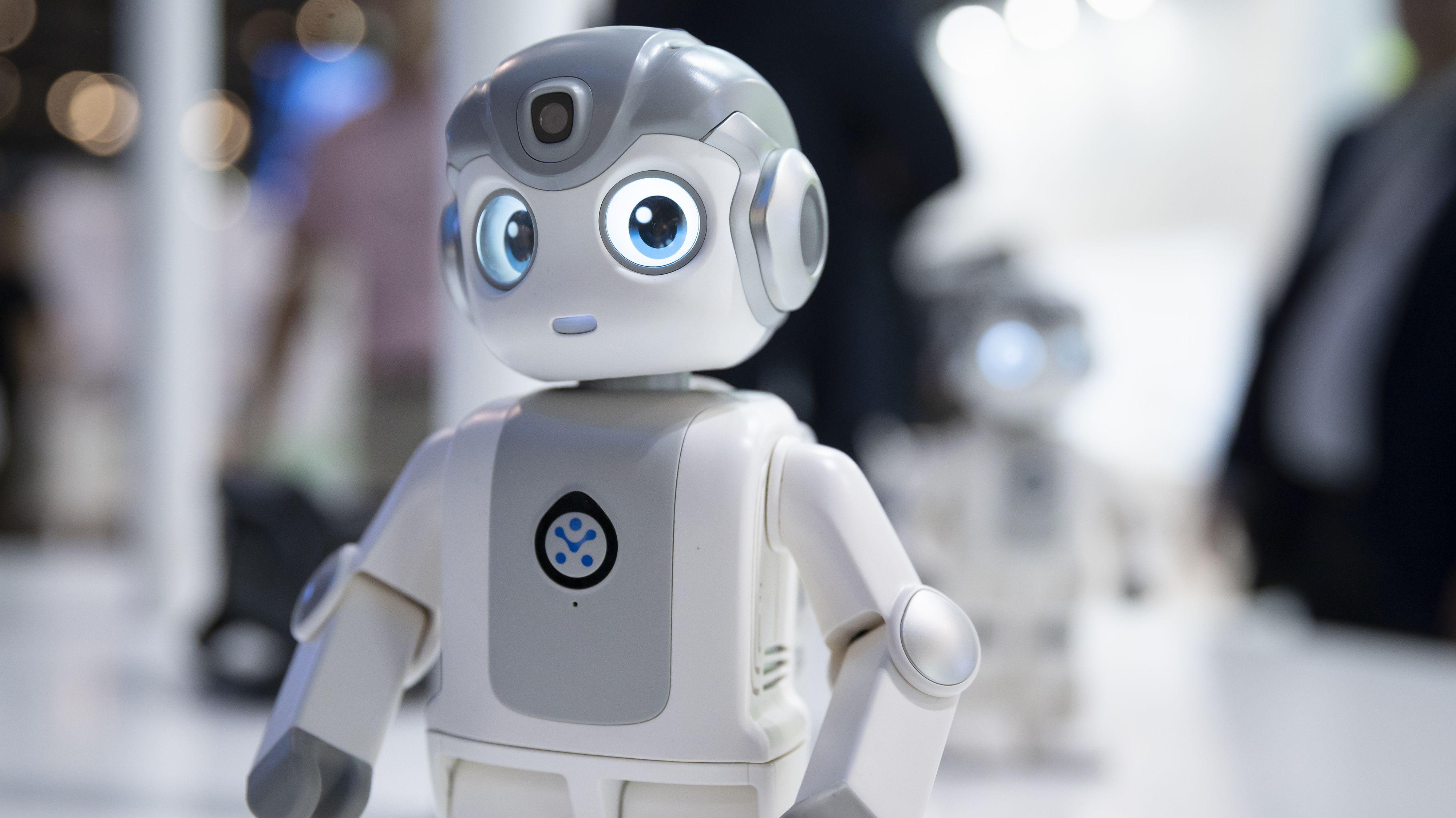 Roboter auf der Internationalen Funkausstellung (IFA) in Berlin