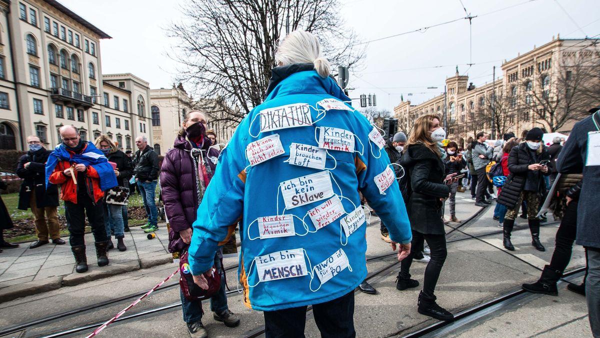 Querdenken-Demo in München