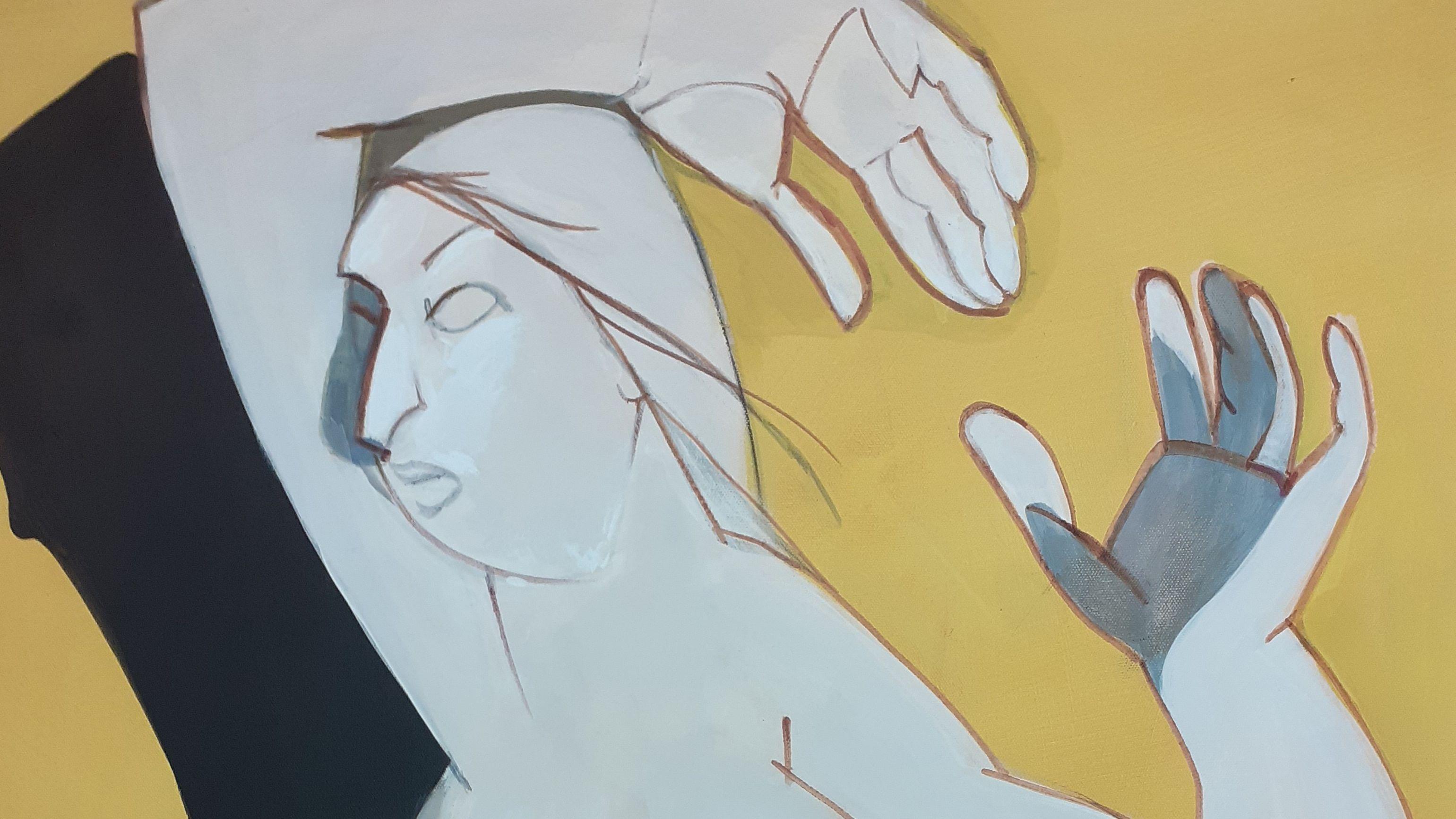Beispielbild Ausstellung Renate Jung im Würzburger Spitäle