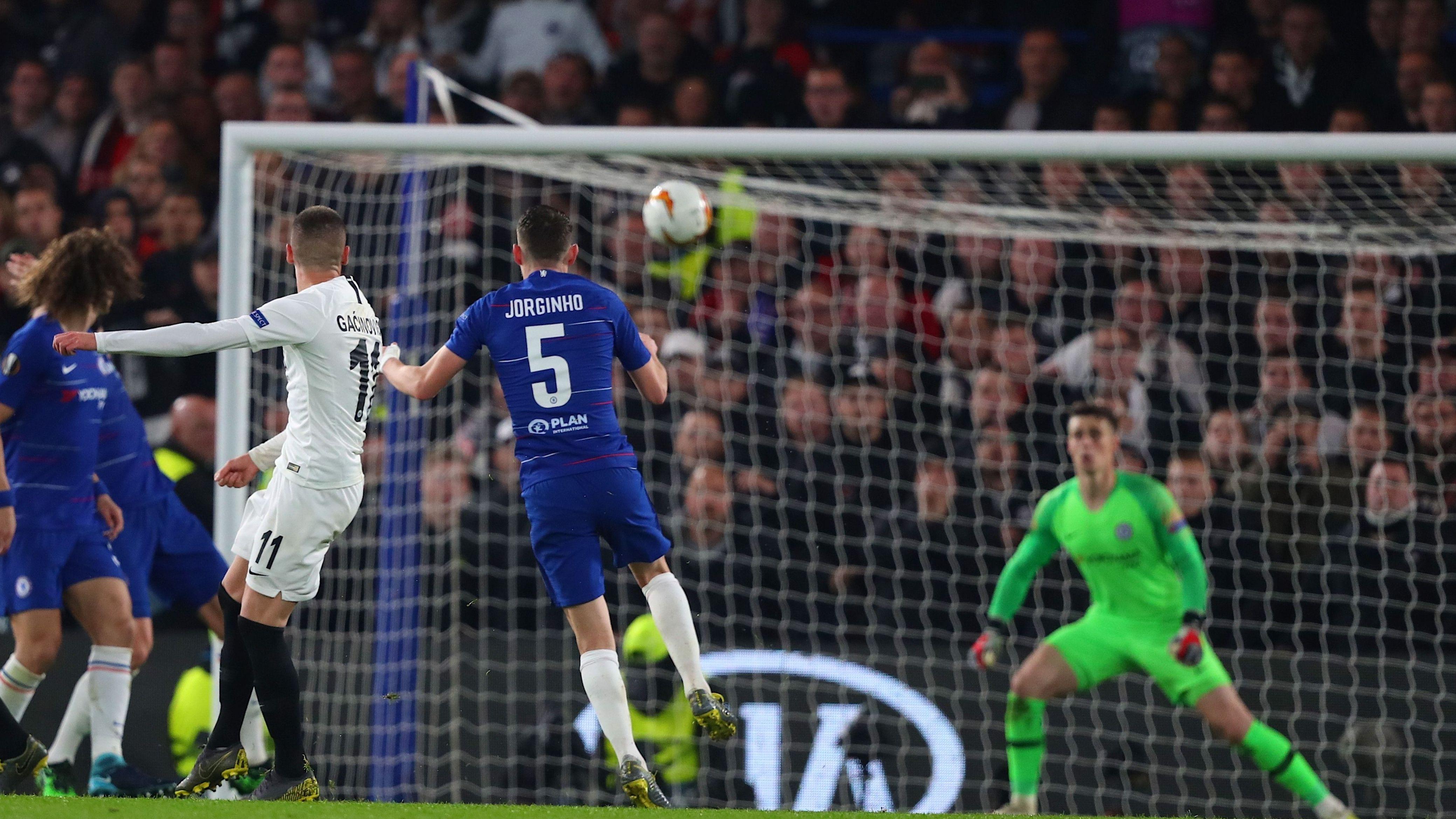 Halbfinale Frankfurt gegen Chelsea