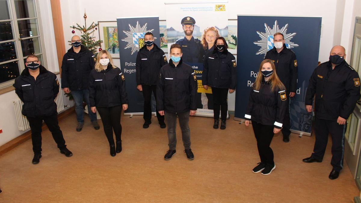 Neue Mitarbeiter der Sicherheitswacht in Regensburg