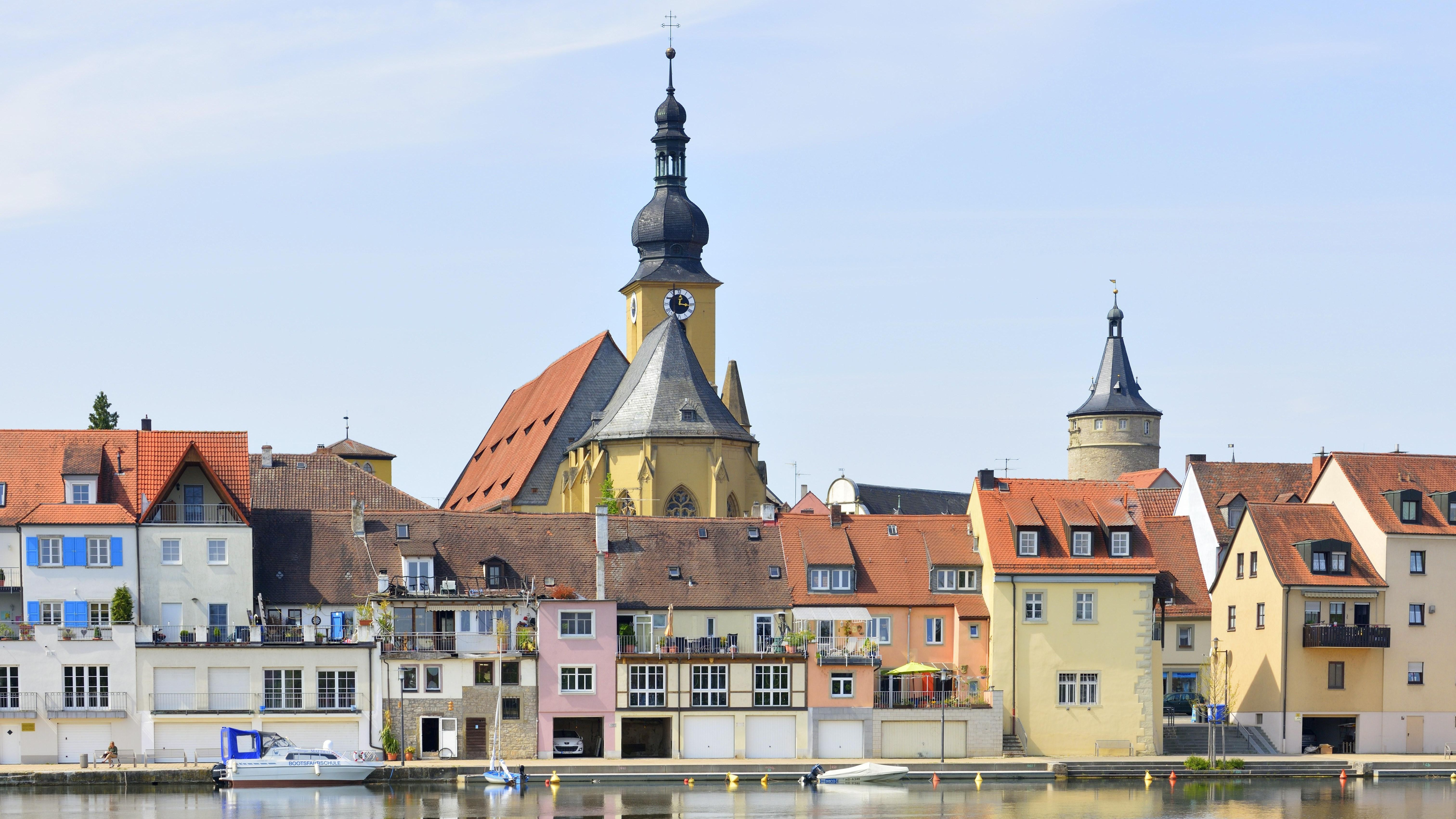 Stadtansicht Kitzingen