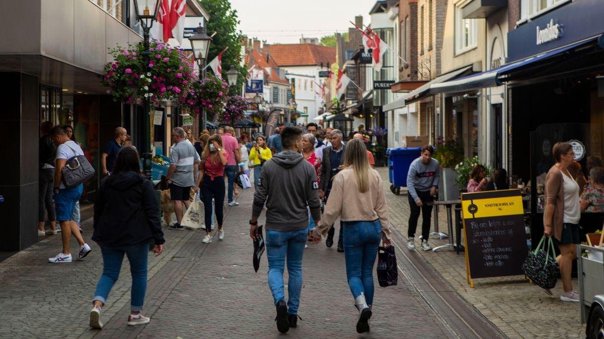 Straßenszene in Sluis