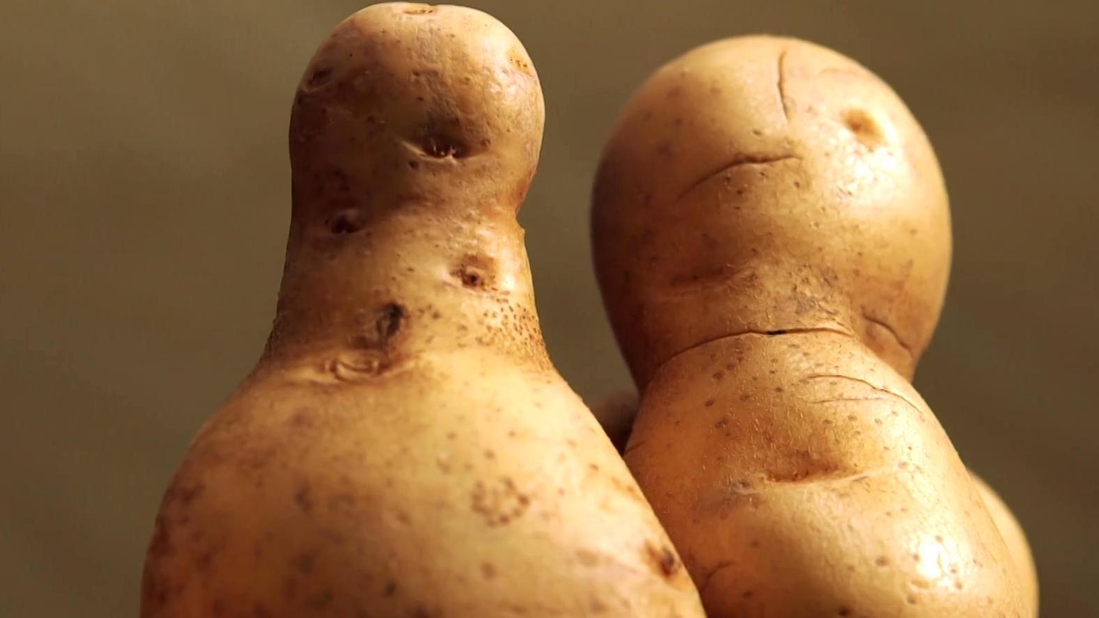 Krumme Kartoffeln