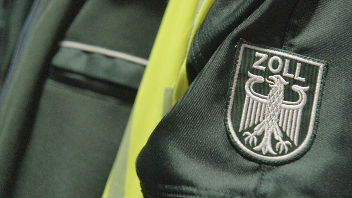 Uniform eines Zollbeamten (Symbolbild)
