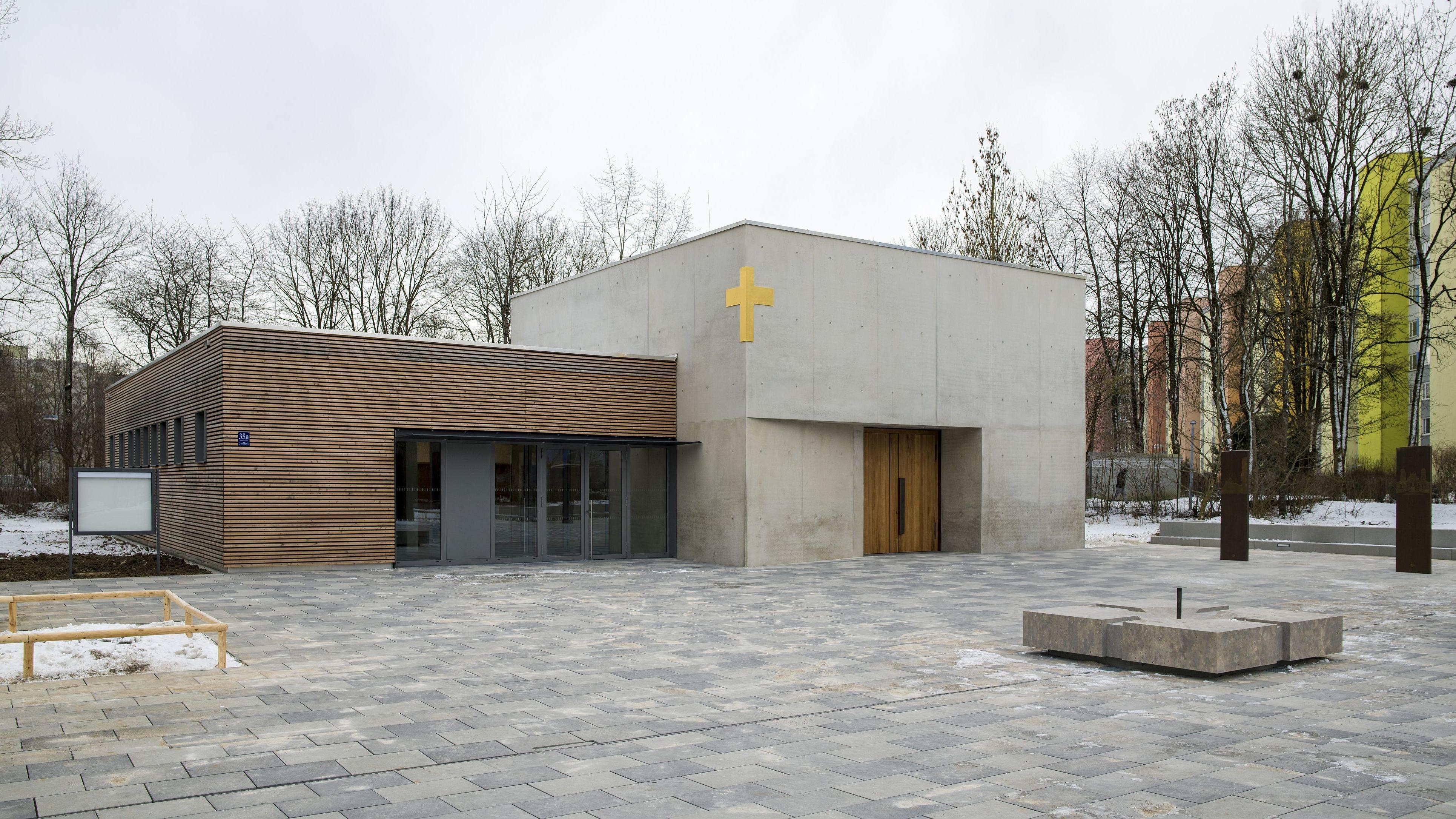 Neubau St.-Jakobus-Kirche und pfarrliche Räume