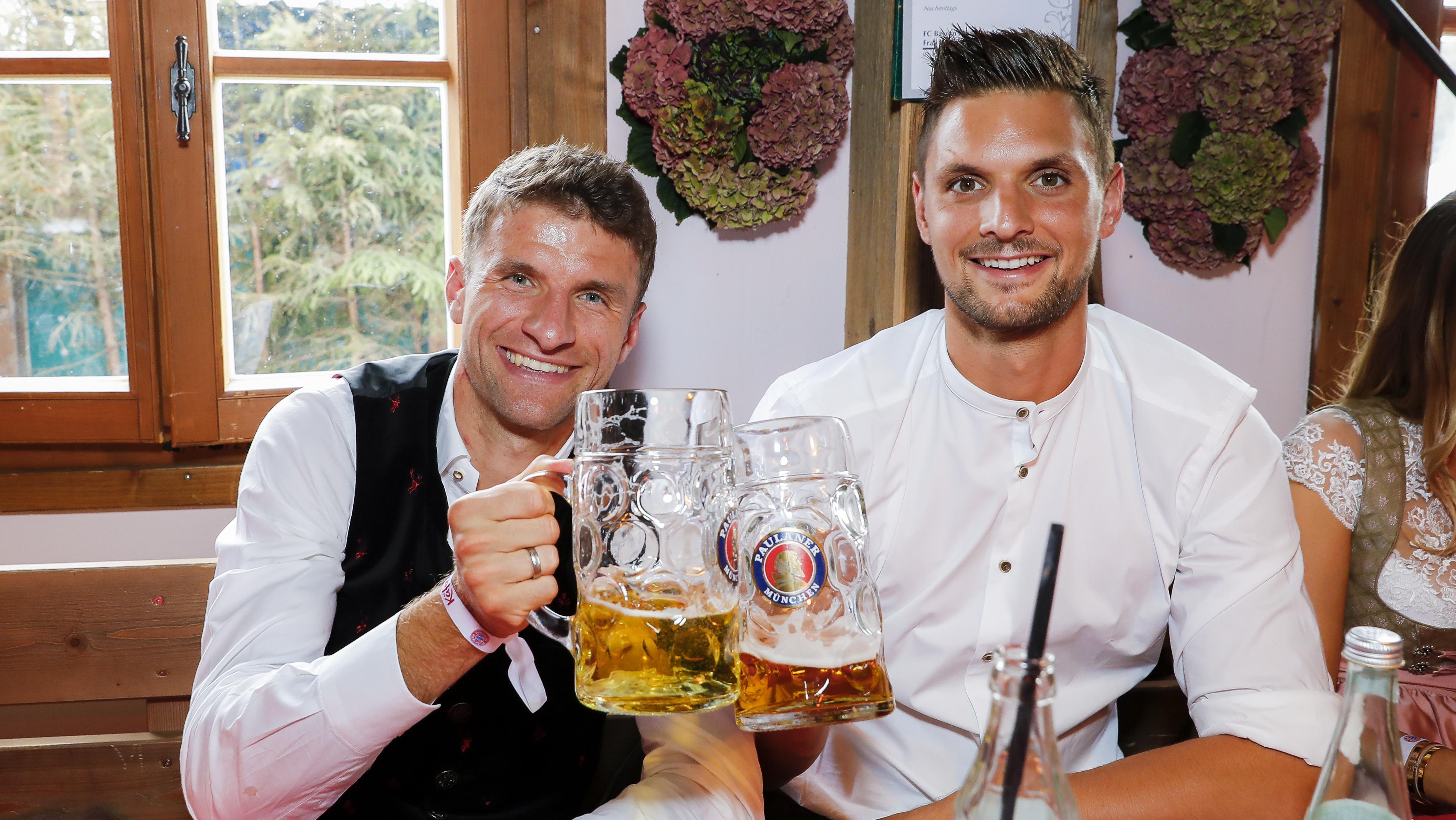 Thomas Müller und Sven Ulreich