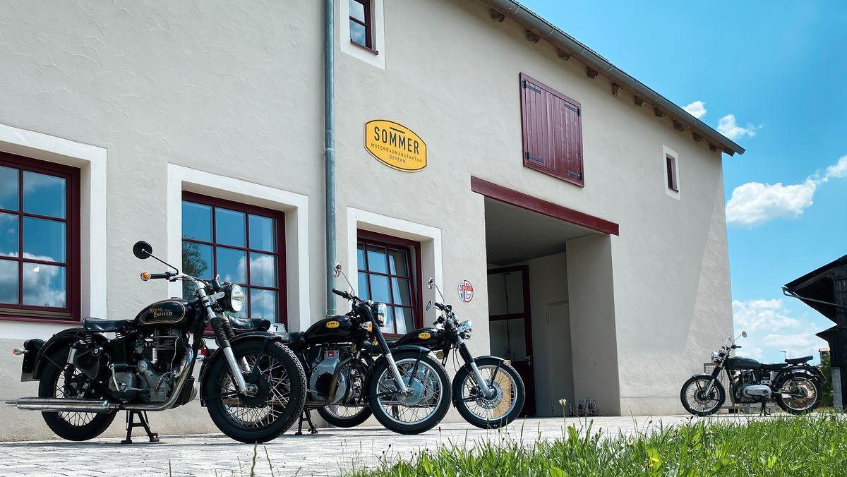 Die Motorradmanufaktur Sommer in Geyern (Lkr. Weißenburg-Gunzenhausen)