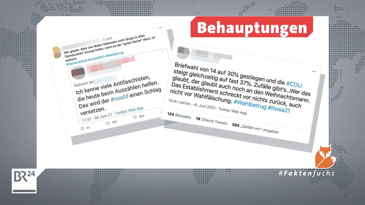 Ähnlichkeiten zu den USA: Gerüchte zu Wahlbetrug bei der Briefwahl werden gestreut und die Antifa als Feindbild in die Gerüchte verwickelt