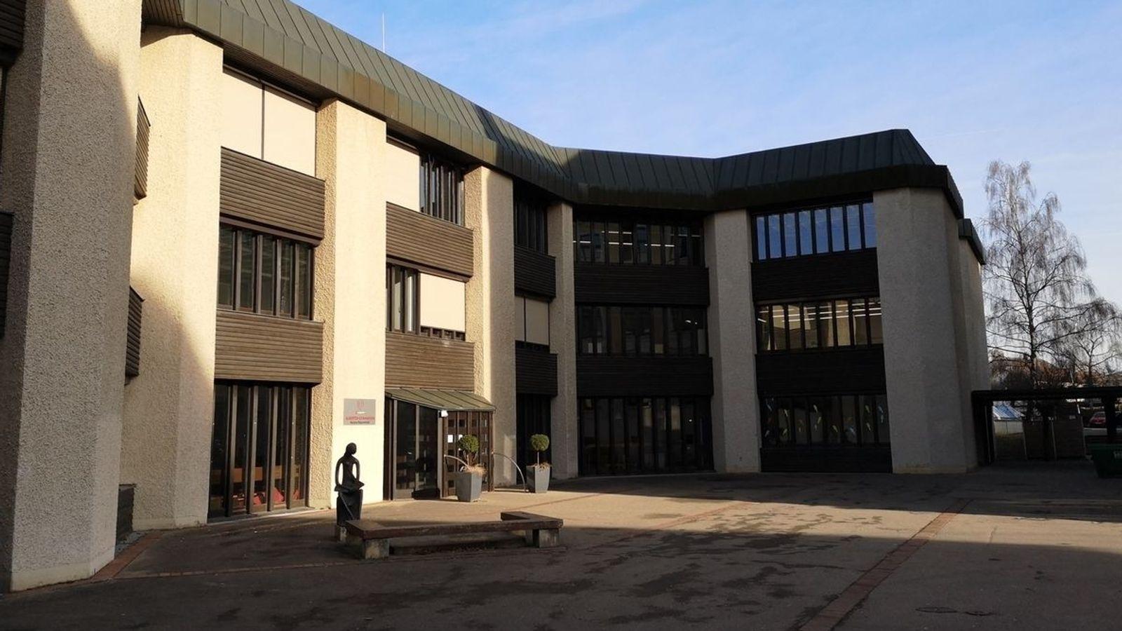 Das Gymnasium in Lauingen.
