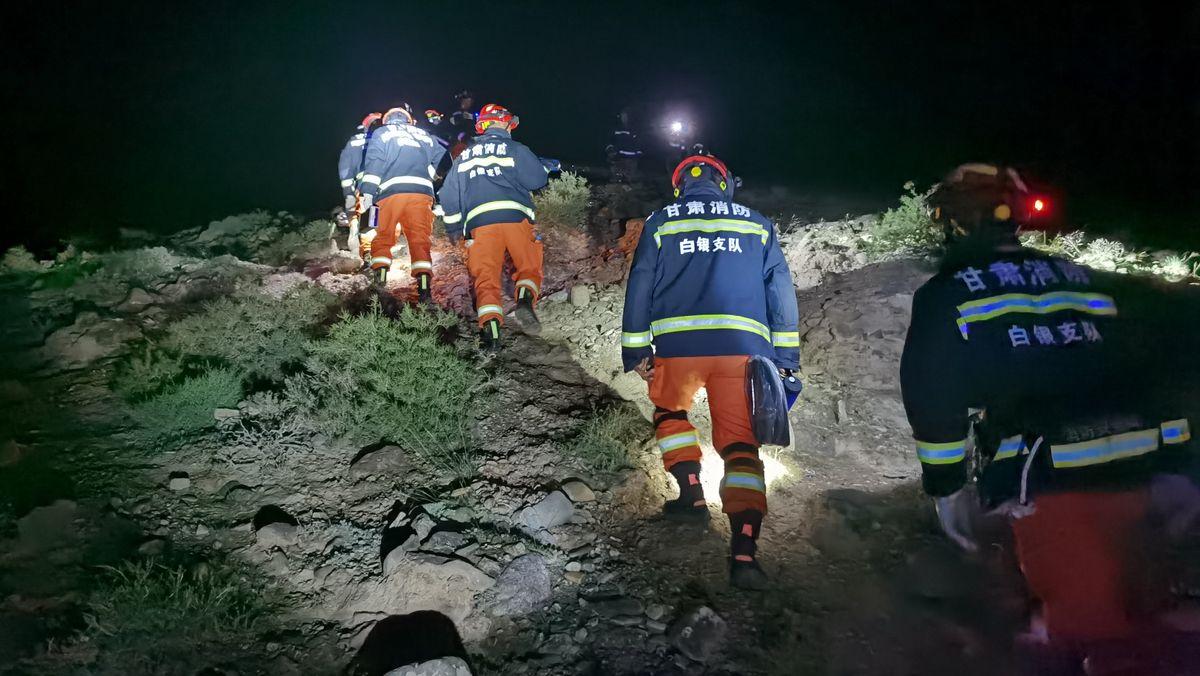 Rettungskräfte suchen nach Vermissten