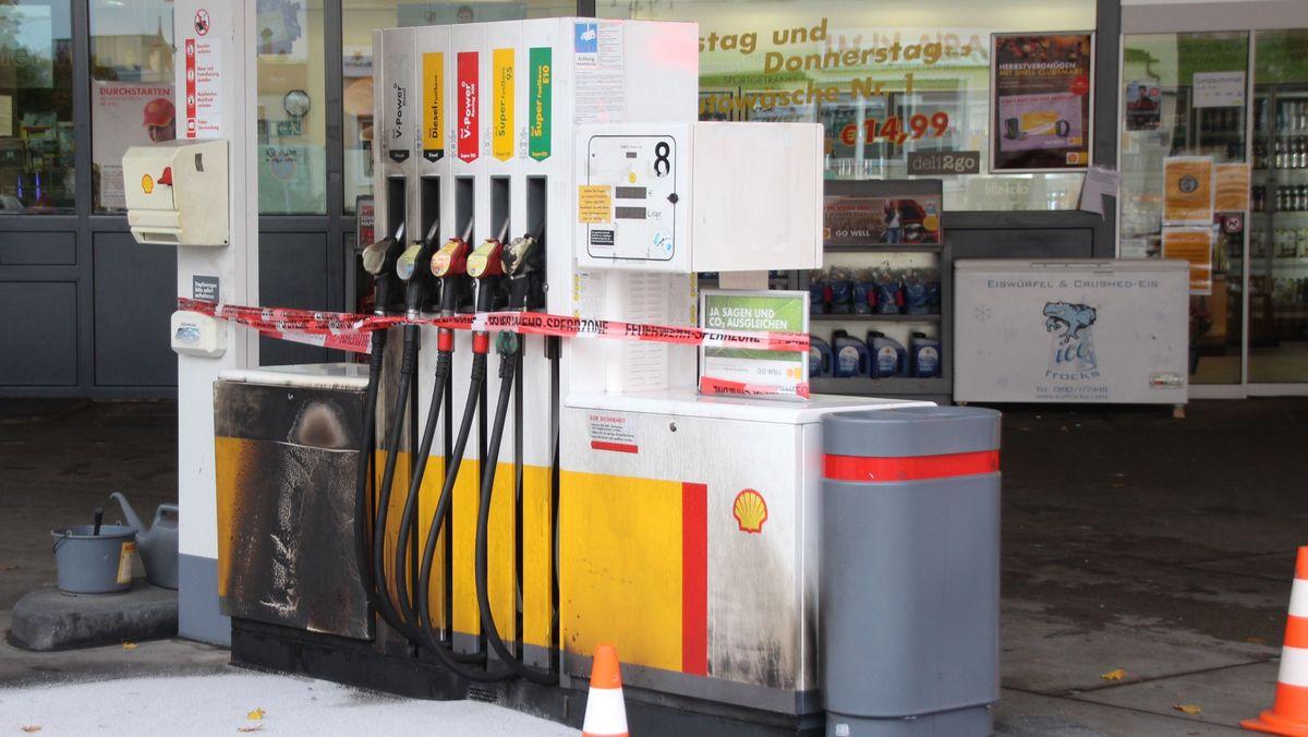 Tankstelle im Regensburger Osten