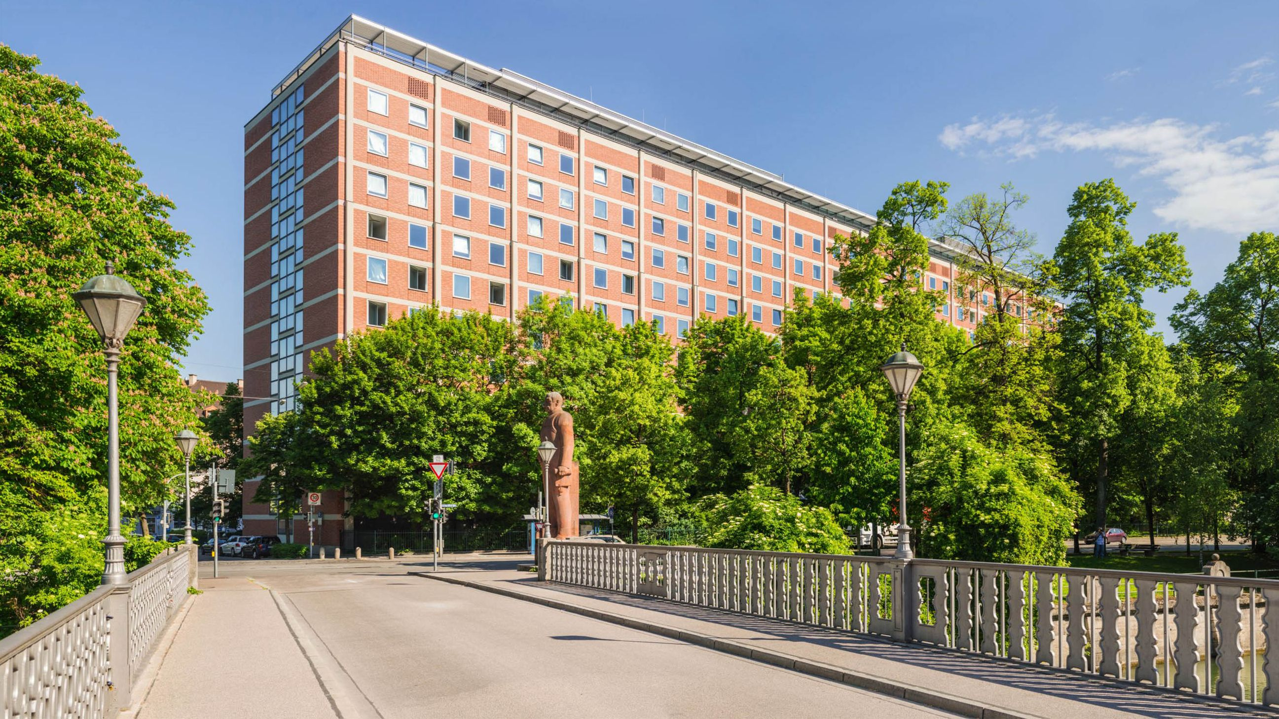 Straßenansicht Deutsches Patent -und Markenamt in München