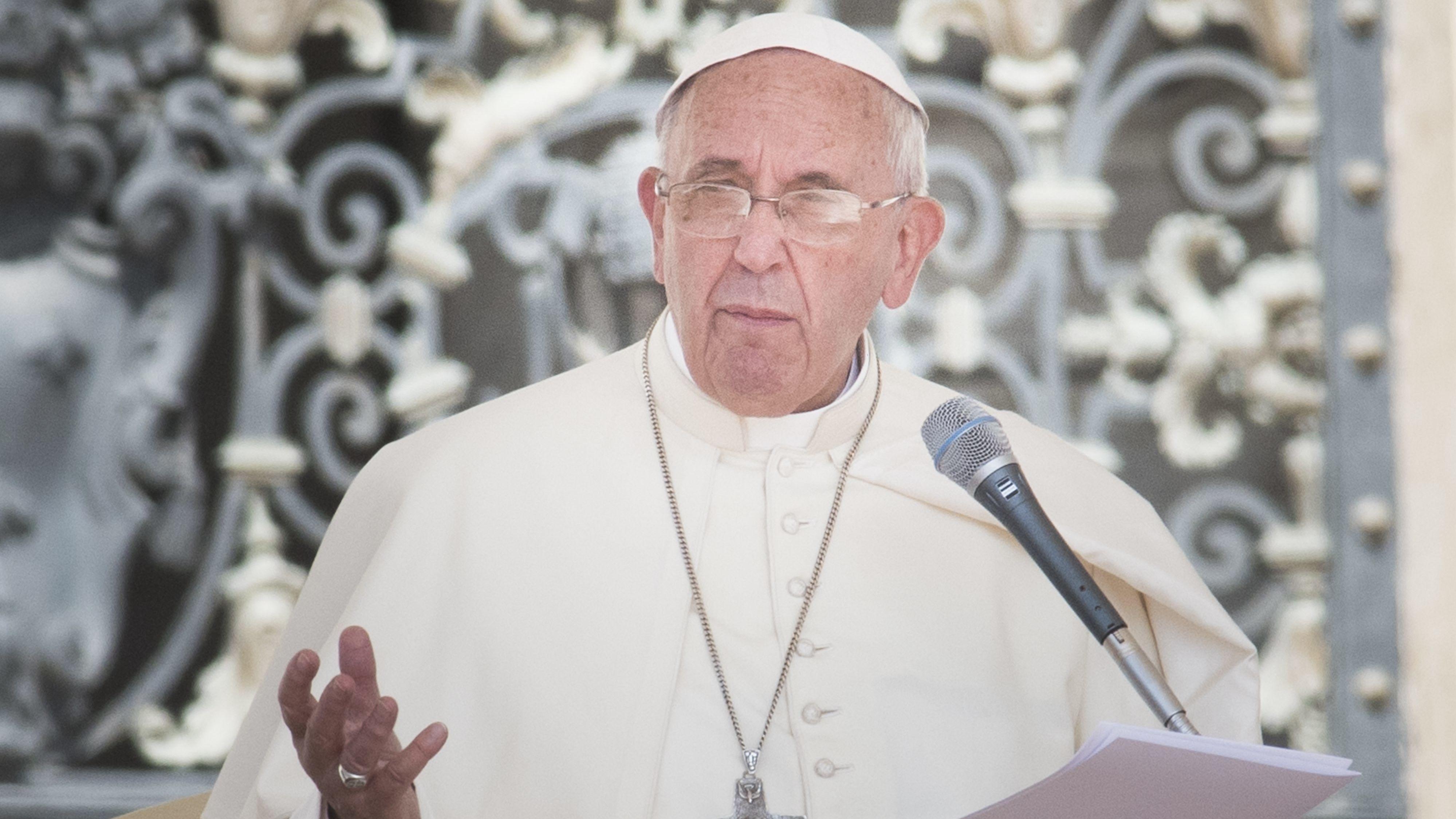 Papst Franziskus im Jahr 2015