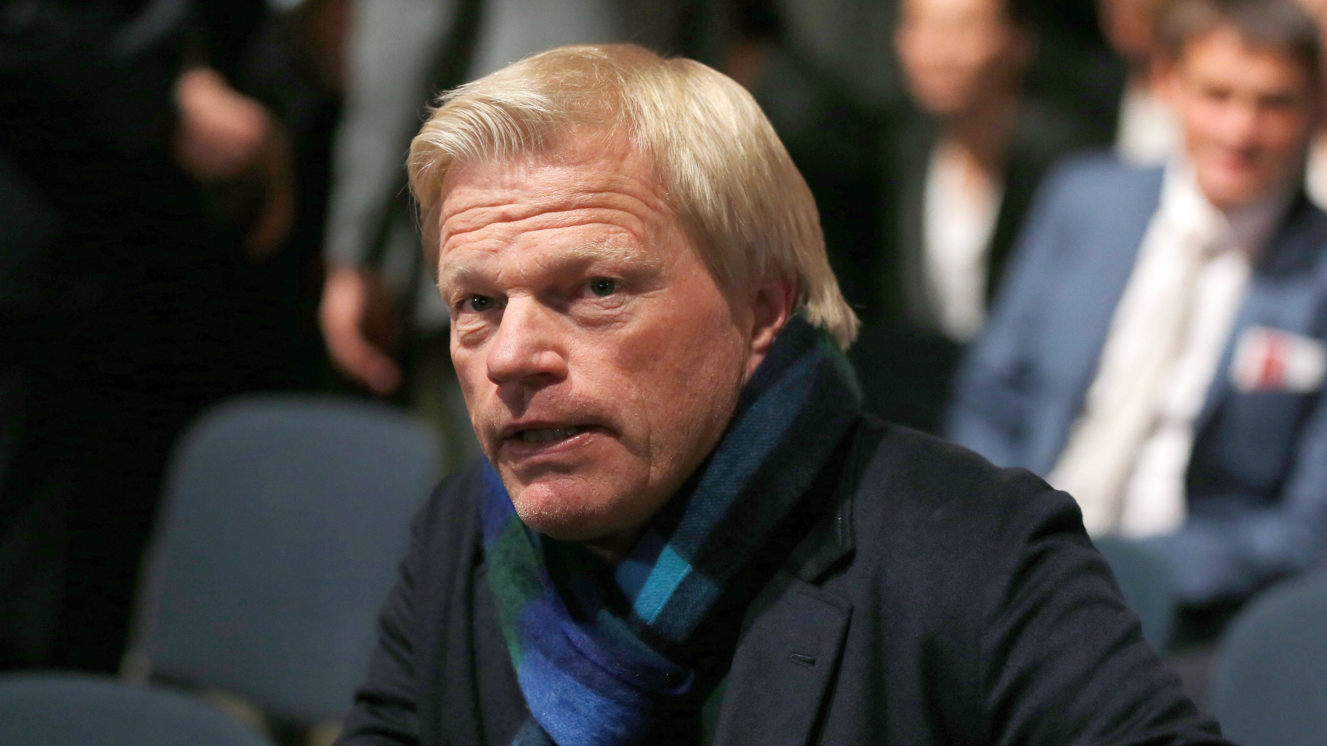 Oliver Kahn auf der FC-Bayern-Jahreshauptversammlung Mitte November 2019
