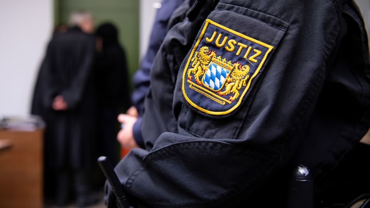 Symbolbild einer Gerichtsverhandlung am Landgericht München