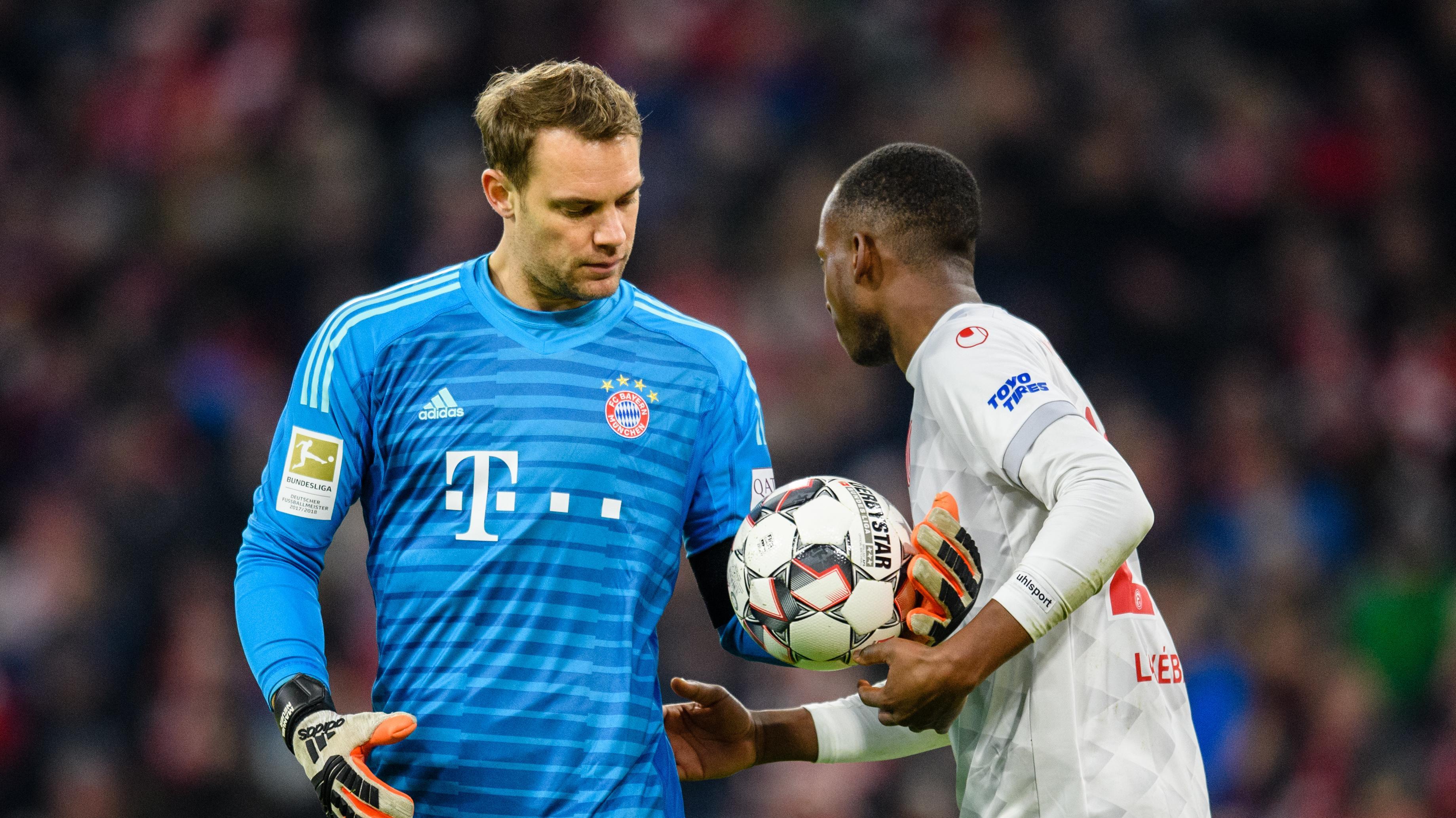 Manuel Neuer und Lukebakio