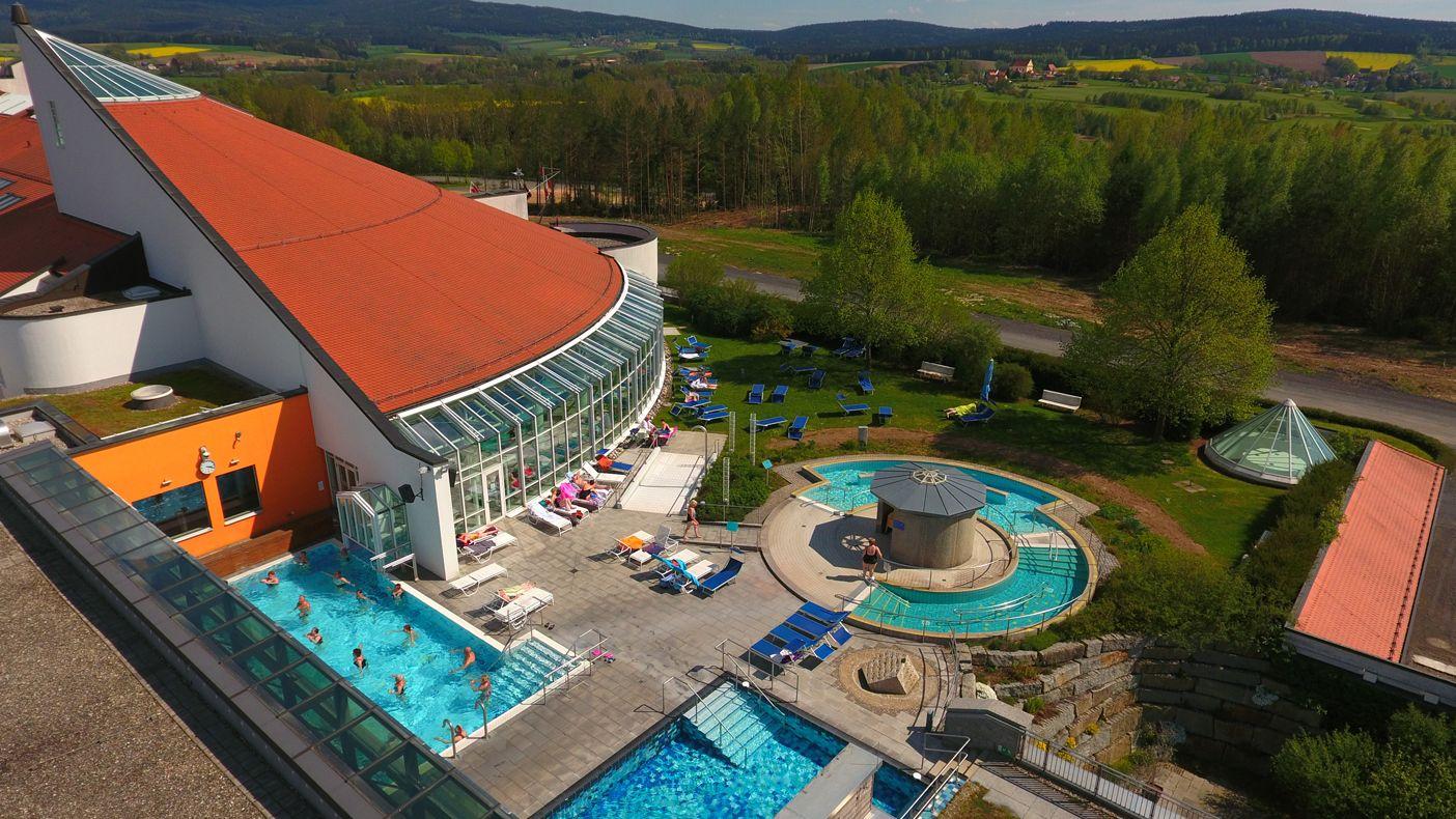 Das Sibyllenbad ist das Herzstück des Heilbads Neualbenreuth.