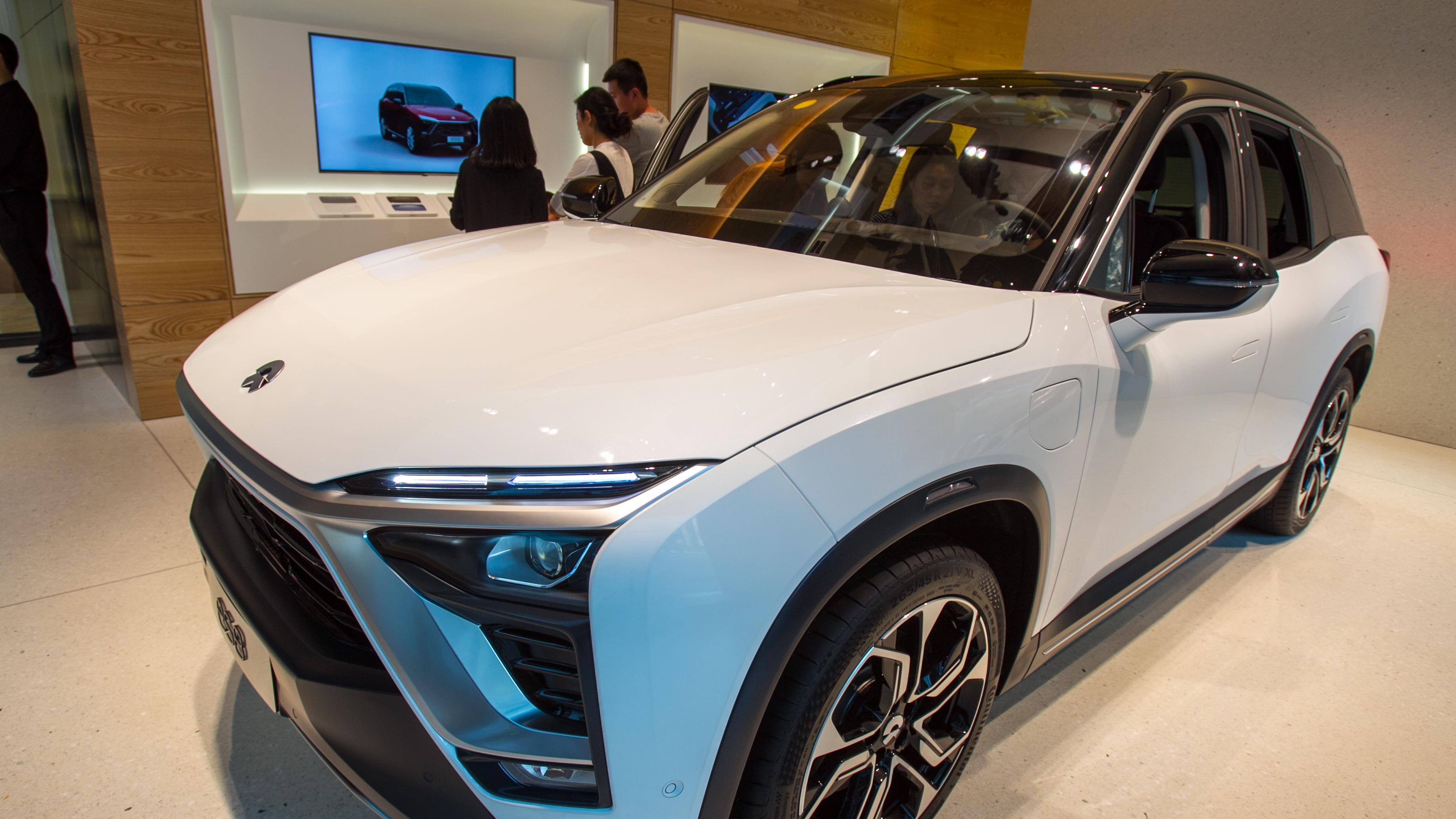Elektro-SUV des chinesischen Herstellers Nio