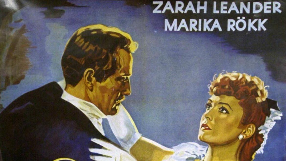 """Filmplakat """"Es war eine rauschende Ballnacht"""" (Ausschnitt)"""
