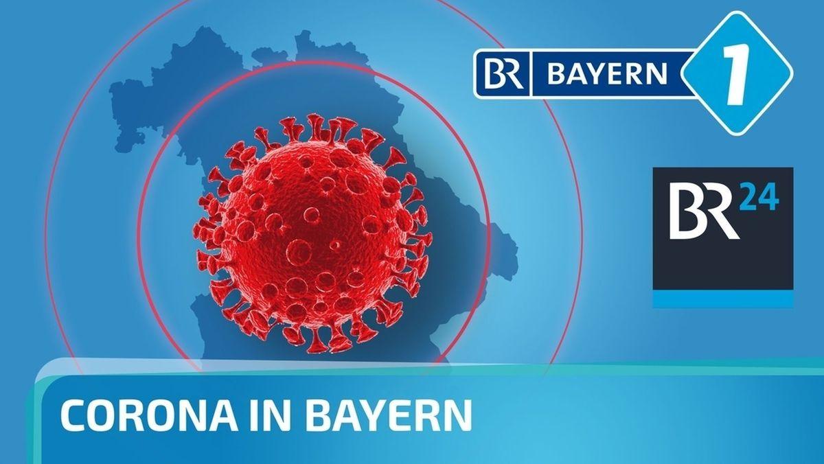 """Grafik """"Corona in Bayern"""""""