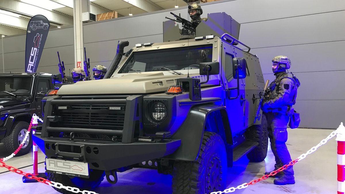 Geländewagen des Panzerwagen-Herstellers ACS