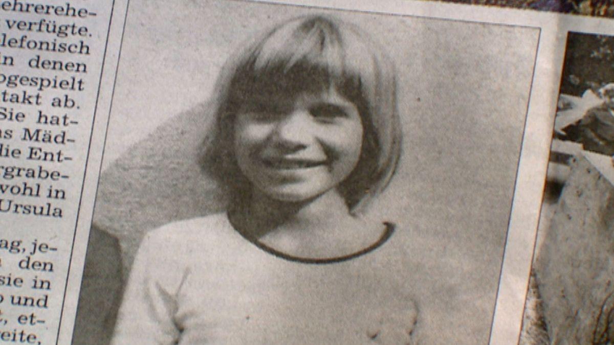 Zeitungsfoto von Ursula Herrmann