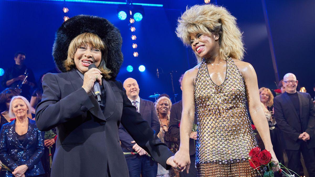 Tina Turner und ihre Darstellerin Kristina Love am 3. März 2019