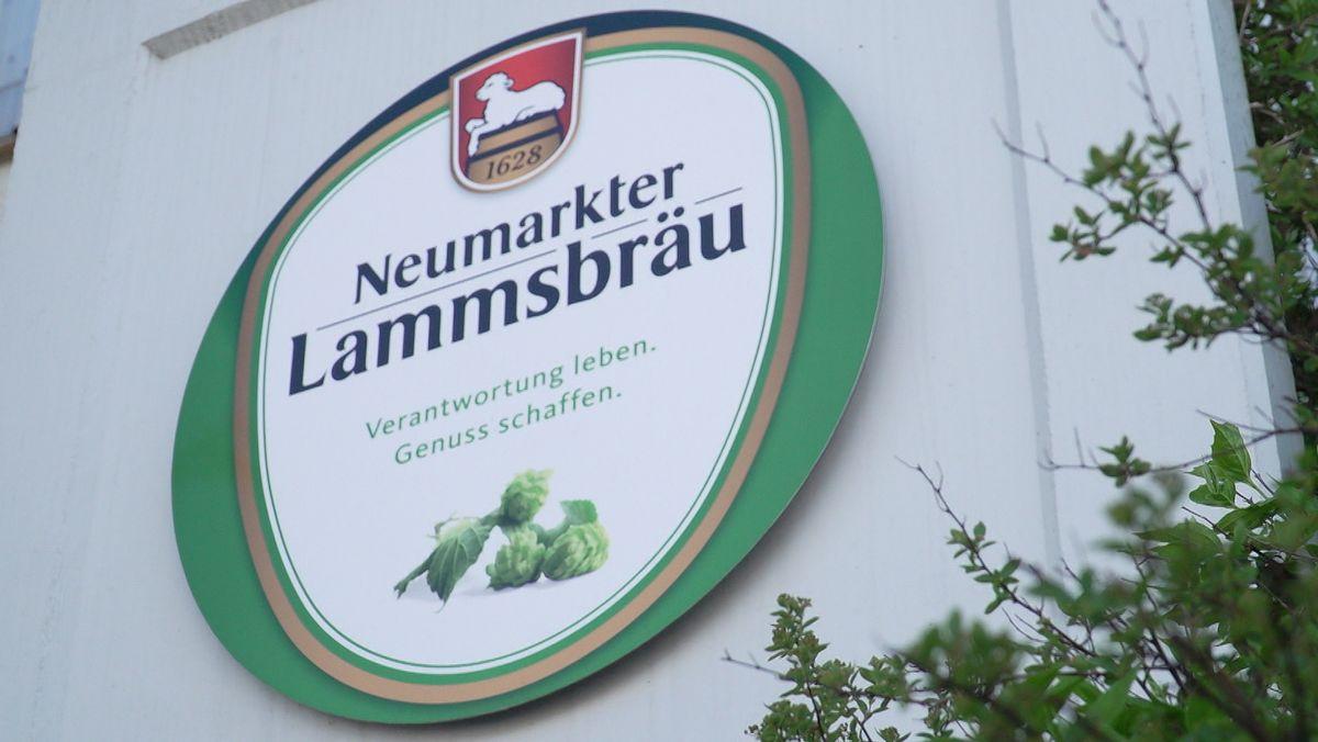 Das Logo der Lammsbräu-Brauerei