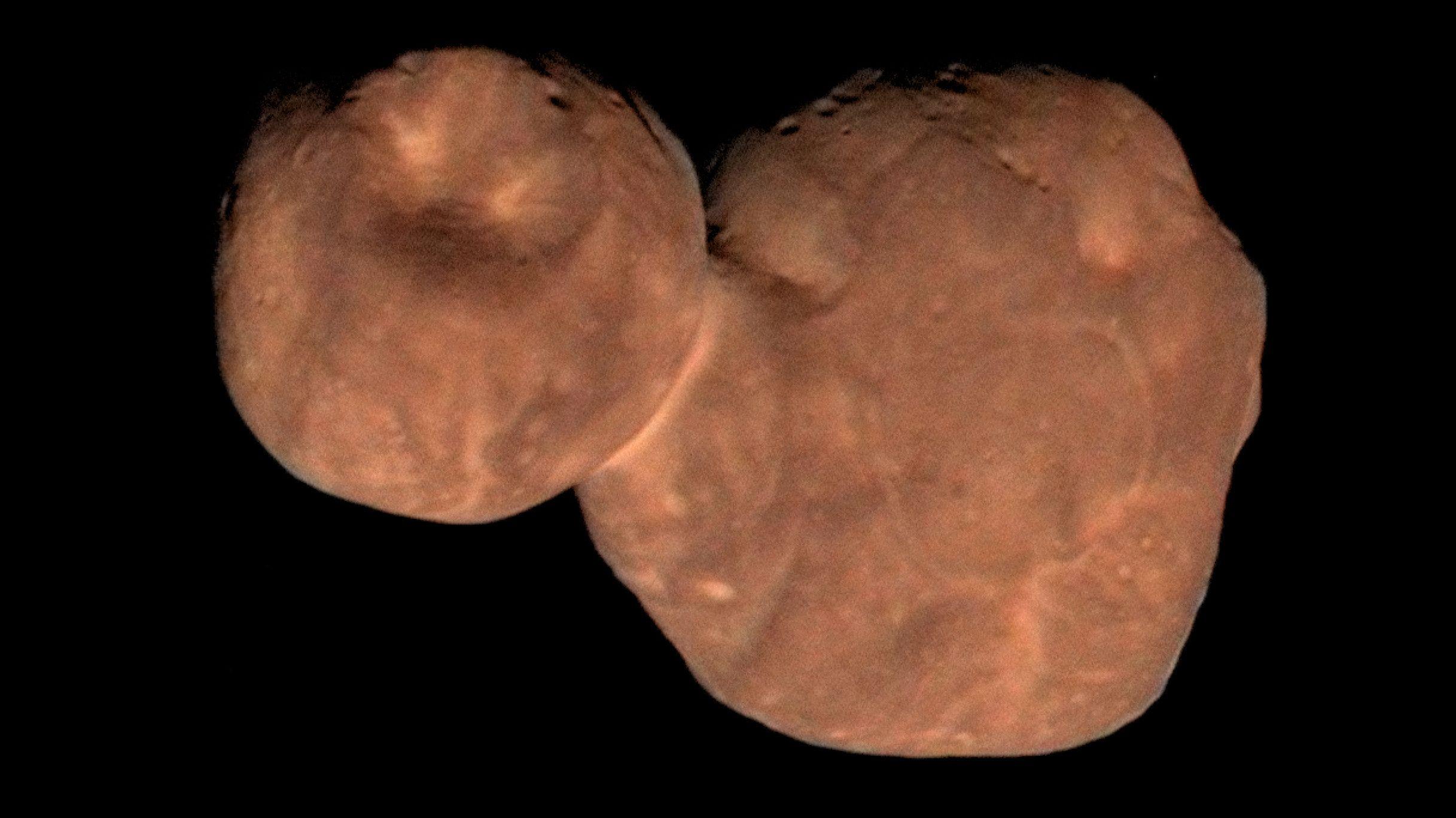 Kuipergürtel-Objekt 2014 MU69, genannt Ultima Thule