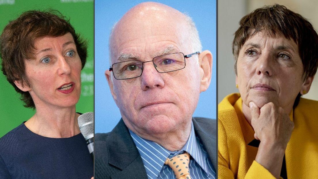 Julia Helmke, Norbert Lammert, Margot Käßmann