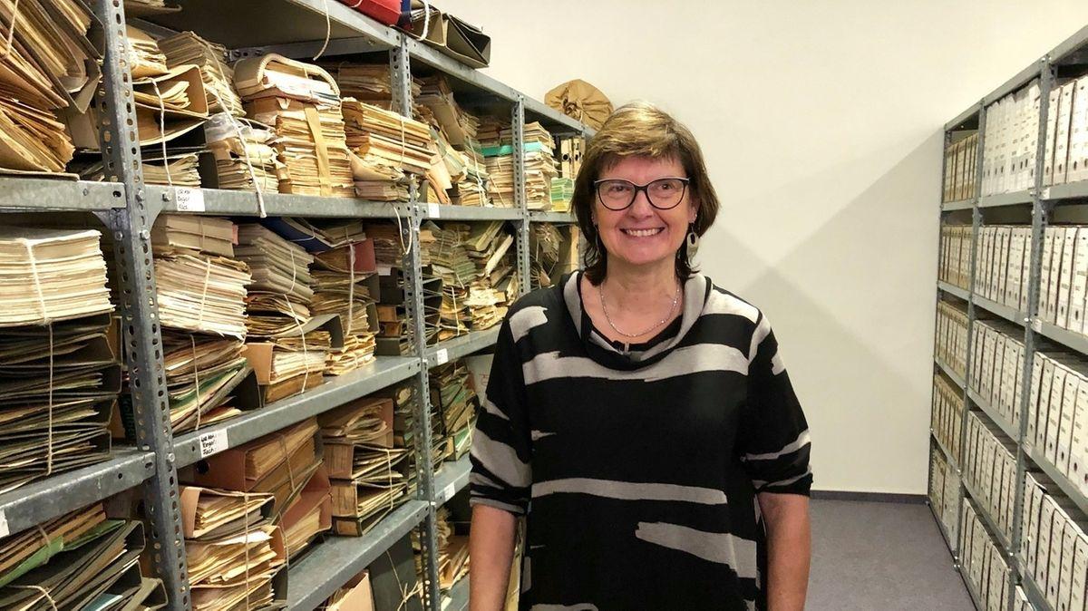 Regina Schild leitet die Stasi-Unterlagenbehörde in Leipzig