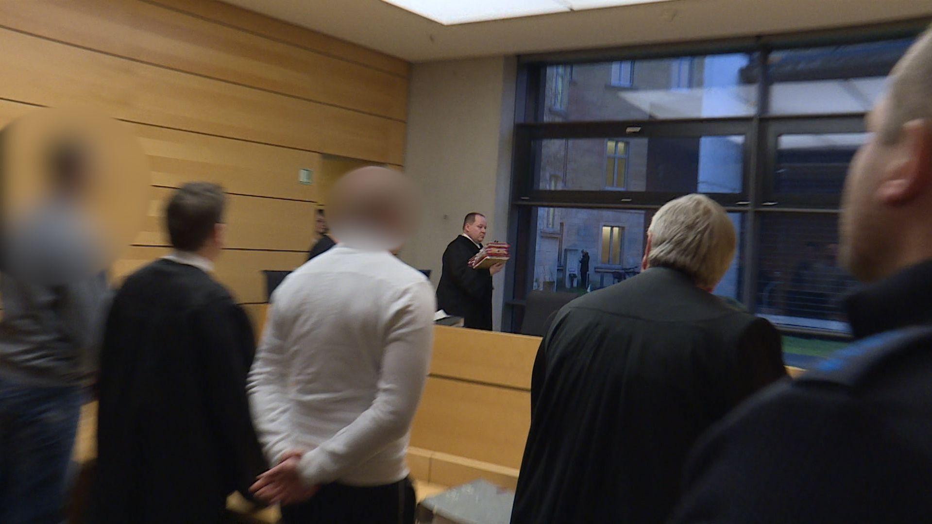 Prozess im Würzburger Amtsgericht