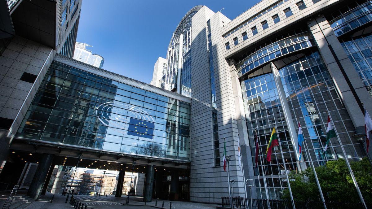 Das Europaparlament in Brüssel.