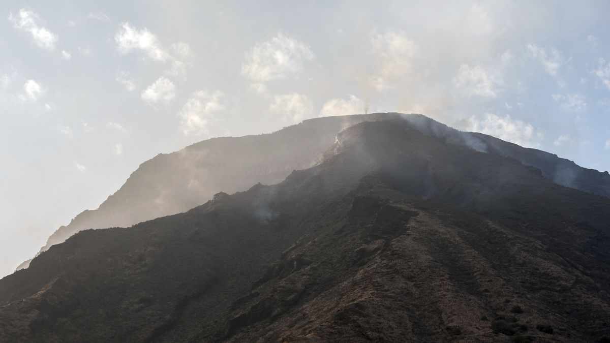 Vulkan Stromboli auf der gleichnamigen Insel  nördlich von Sizilien. (Archivbild)