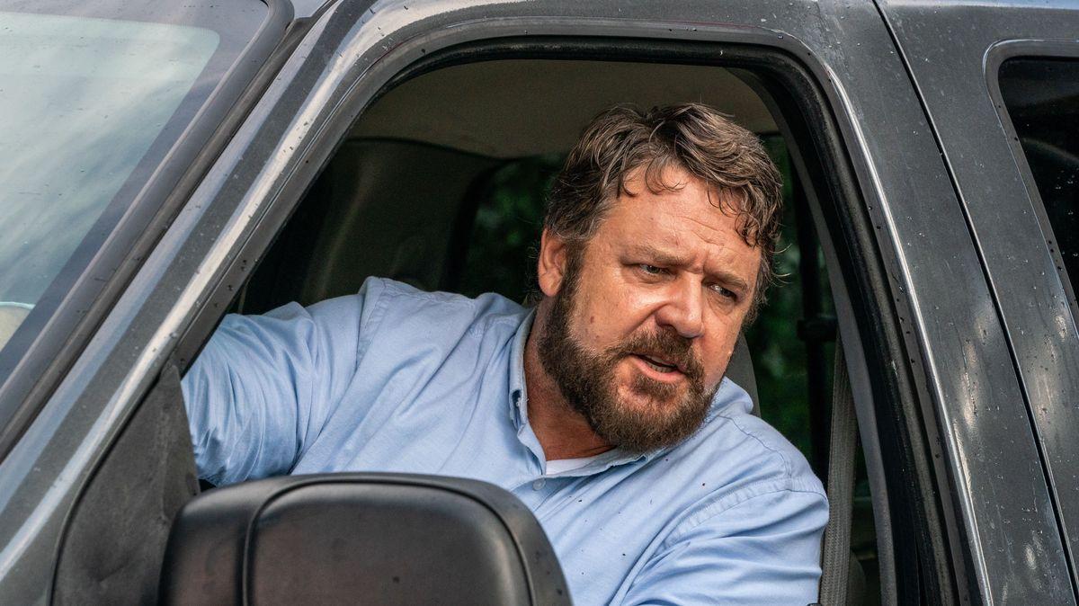 """Russell Crowe bringt die Action zurück ins Kino ... und hat dafür einige Pfunde zugelegt (""""Unhinged""""-Filmszene)."""